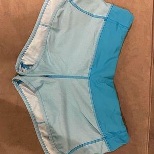 Blue Lululemon shorts size 8